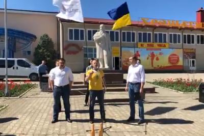 Керівник партії Наливайченка у Чернівцях оголосив голодування