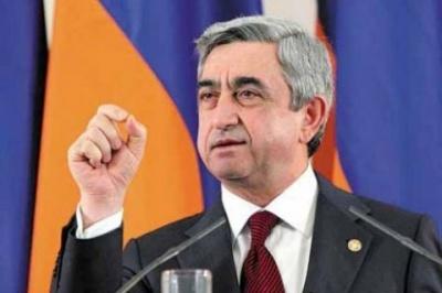 Прем'єр Вірменії Саргсян йде у відставку