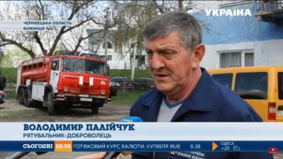У Чернівецькій області рятувальник-доброволець своїми силами створив пожежну бригаду (ВІДЕО)