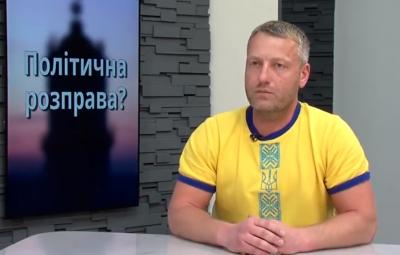 Екс-мер Заставни заявив про припинення голодування