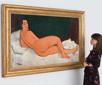 Картина Модільяні виставлена на продаж за рекордну суму