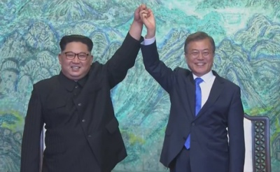 Південна та Північна Кореї домовилися про закінчення 70-річної війни
