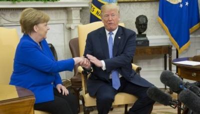 Меркель обговорила з Трампом ситуацію в Україні