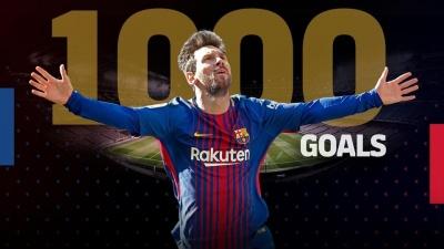 Мессі забив 1000-й гол за кар'єру