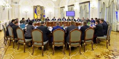РНБО синхронізувала зі США санкції проти Росії