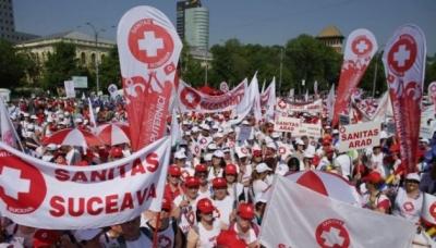 У Румунії на попереджувальний страйк вишли 75% медперсоналу