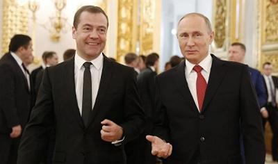 Російський уряд знову очолить Медведєв