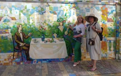 Кава зі смаком Чернівців: будинок на Хмельницького прикрасили яскравим малюнком