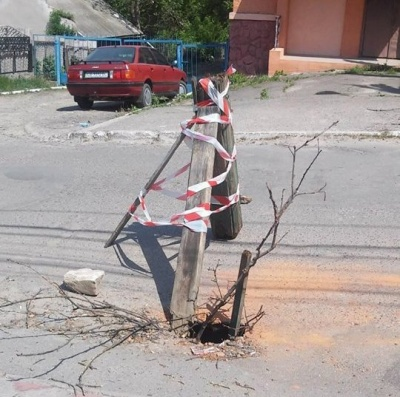 «Провалля» у асфальті на Кармелюка: стало відомо, чому утворились ями