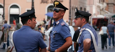 В Італії арештували двох українців за спробу пограбування поліцейського