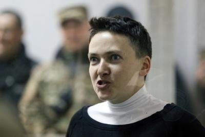 Савченко вимагає щоби її возили з СІЗО на засідання Ради