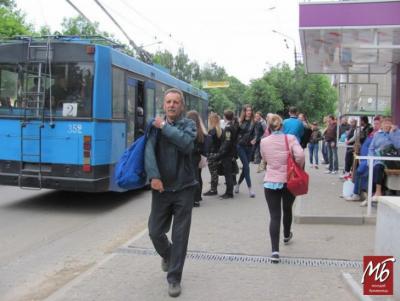 Страйк перевізників: у виконкомі радять і надалі готуватись до «піших» прогулянок
