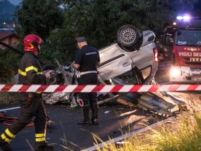 В Італії авто вилетіло з траси і перекинулось: серед загиблих - двоє буковинців