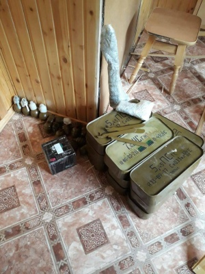 На Франківщині у пенсіонера-прапорщика знайшли 22 гранатомети та понад 20 гранат