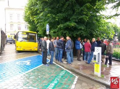 Після 4-денного страйку деякі перевізники вийдуть на свої маршрути