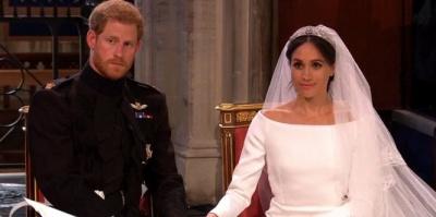 Сьогодні відбулося весілля принца Гаррі та Меган Маркл