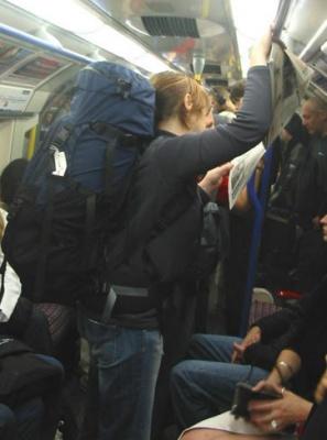 У транспорті Харкова можуть заборонити рюкзаки
