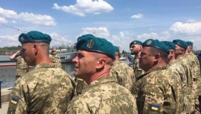 Українські морпіхи носитимуть берети відтінку морської хвилі