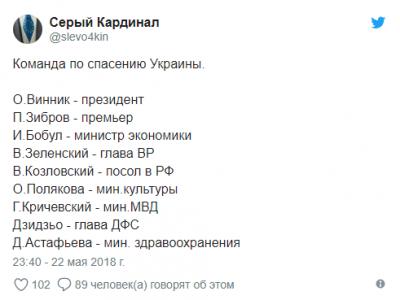 """""""Іво Бобул - президент, Зібров - міністр оборони"""": як мережа висміяла заяву співака з Буковини"""