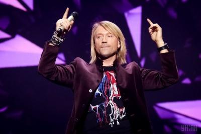 Співак Олег Винник зі сцени зізнався коханій у почуттях