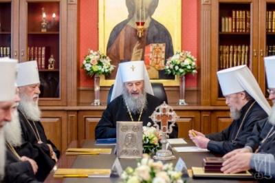 В УПЦ МП заявили, що автокефалія української церкви є загрозою для безпеки держави