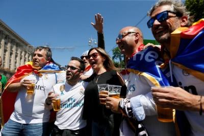 На Фінал Ліги чемпіонів вже приїхало понад 10 тисяч уболівальників