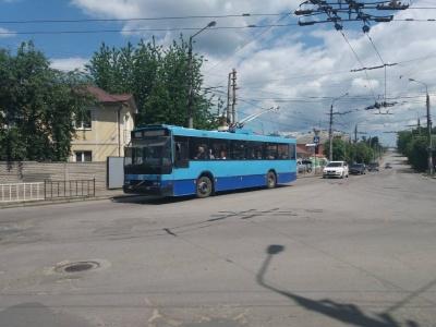 У Чернівцях через ремонт дороги не курсуватиме тролейбус