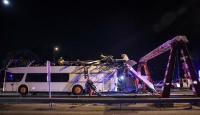 У Будапешті автобус з українськими туристами потрапив у ДТП. 27 пораненених