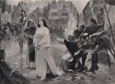 Цей день в історії: спалення Жанни д'Арк і трагедія під час коронації царя Миколи ІІ