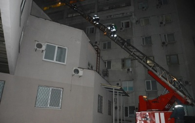У Дніпрі горіла лікарня імені Мечникова: одна людина в реанімації