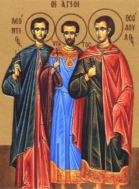 1 липня за церковним календарем - мученика Леонтія