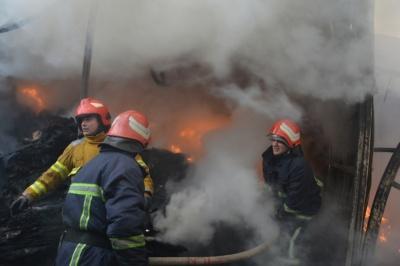 Пожежа на Калинці: у підприємця згоріло майна на майже півмільйона