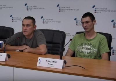 У ЗСУ прокоментували виступ двох полонених бійців, яких бойовики використовують для пропаганди