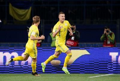 Українська збірна зіграла товариській матч з Албанією