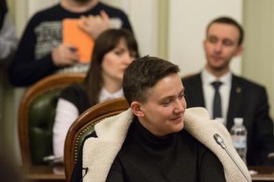 СБУ оприлюднила результати перевірки Савченко на детекторі брехні