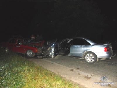 На Буковині п'яний водій «Ауді» протаранив «Мерседес»
