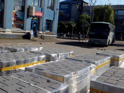 Нова бруківка і криті перони: у Чернівцях ремонтують центральний автовокзал