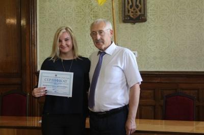 Спортсмени Буковини отримали стипендії за спортивні досягнення