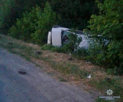 «Фіат» перекинувся на узбіччя біля Хотина: водій загинув - фото