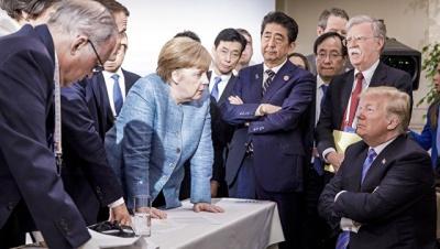 Меркель прокоментувала відмову Трампа підписати комюніке саміту G7