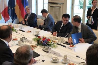 """У Німеччині почалися переговори """"нормандської четвірки"""" на рівні МЗС"""