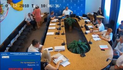 У Чернівцях через відсутність кворуму зірвали засідання виконкому