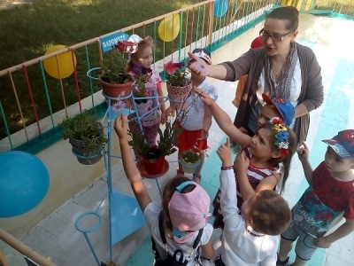 У дитсадку в Чернівцях відкрили метеостанцію - фото