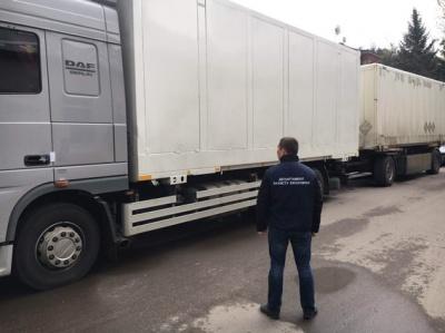 На Буковині у контрабандиста конфіскували вантажівку й речових доказів на 1 млн грн