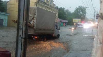 Негода на Буковині. Синоптики розповіли, яке місто найбільше постраждало від вітру і дощу