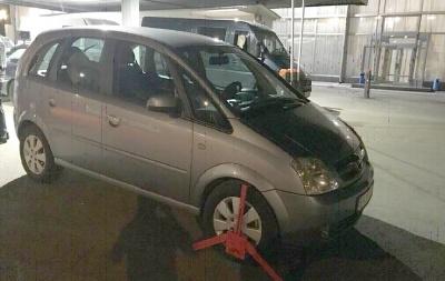 На Буковині затримали громадянина Молдови, який хотів перевезти через кордон викрадене авто