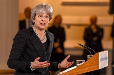 Британський прем'єр виступила за посилення санкцій проти РФ