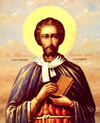 14 червня  за церковним календарем - мученика Юстина