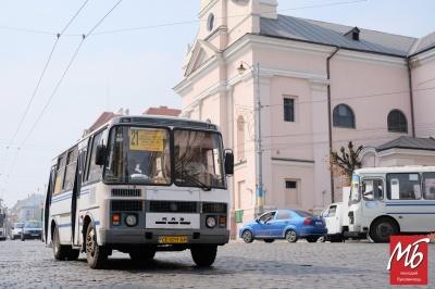 У Чернівцях тимчасово скасували чотири автобусні маршрути