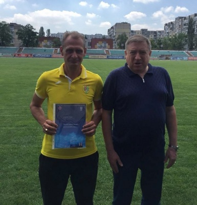 """Тренер """"Буковини"""" отримав диплом УЄФА"""